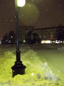 Wer ist schuld am gelben Schnee: Beleuchtung oder schwarzer Tee?
